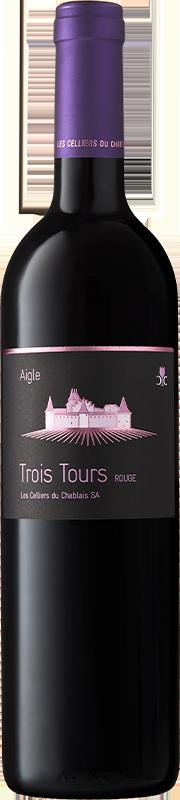Celliers du Chablais Trois Tours Rouge Aigle Chablais AOC 2019