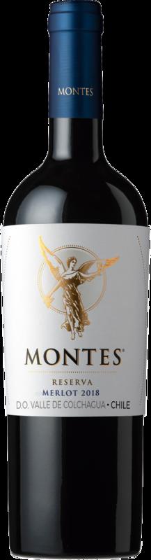 Montes Merlot Reserva DO 2019