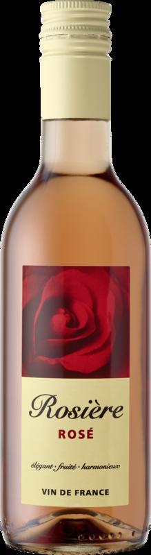 Rosière Vin Rosé de France demi-doux 2020