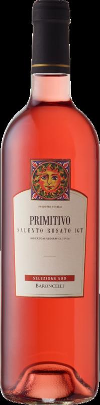 Baroncelli selezione sud Primitivo Salento rosato IGT 2020