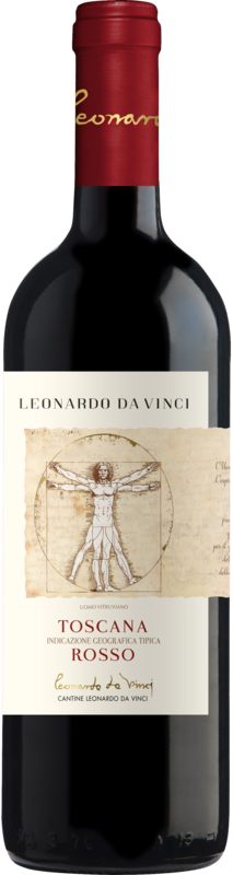Leonardo da Vinci Rosso Toscana IGT Vitruviano Leonardo 2019