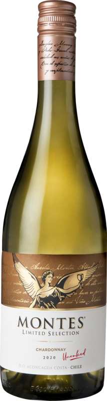 Montes Limited Selection Chardonnay Unoaked 2020