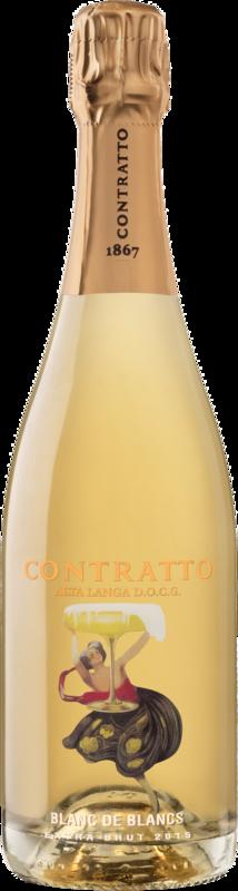 Contratto Spumante Alta Langa DOCG Blanc de Blancs Extra Bru 2016