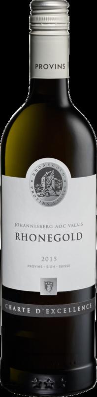 Charte d'Excellence Johannisberg du Valais AOC Rhonegold 2019
