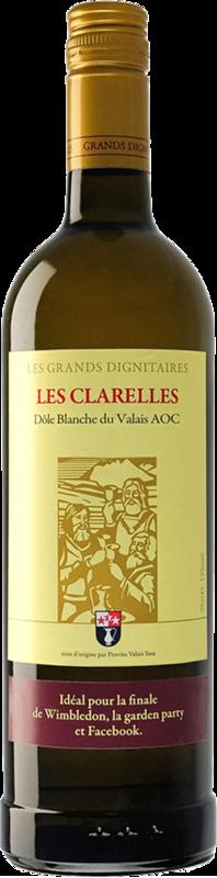 Les grands dignitaires Dôle Blanche AOC Clarelles 2019