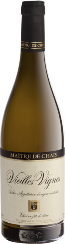 Maître de Chais Vieilles Vignes du Valais AOC fût de chêne 2018